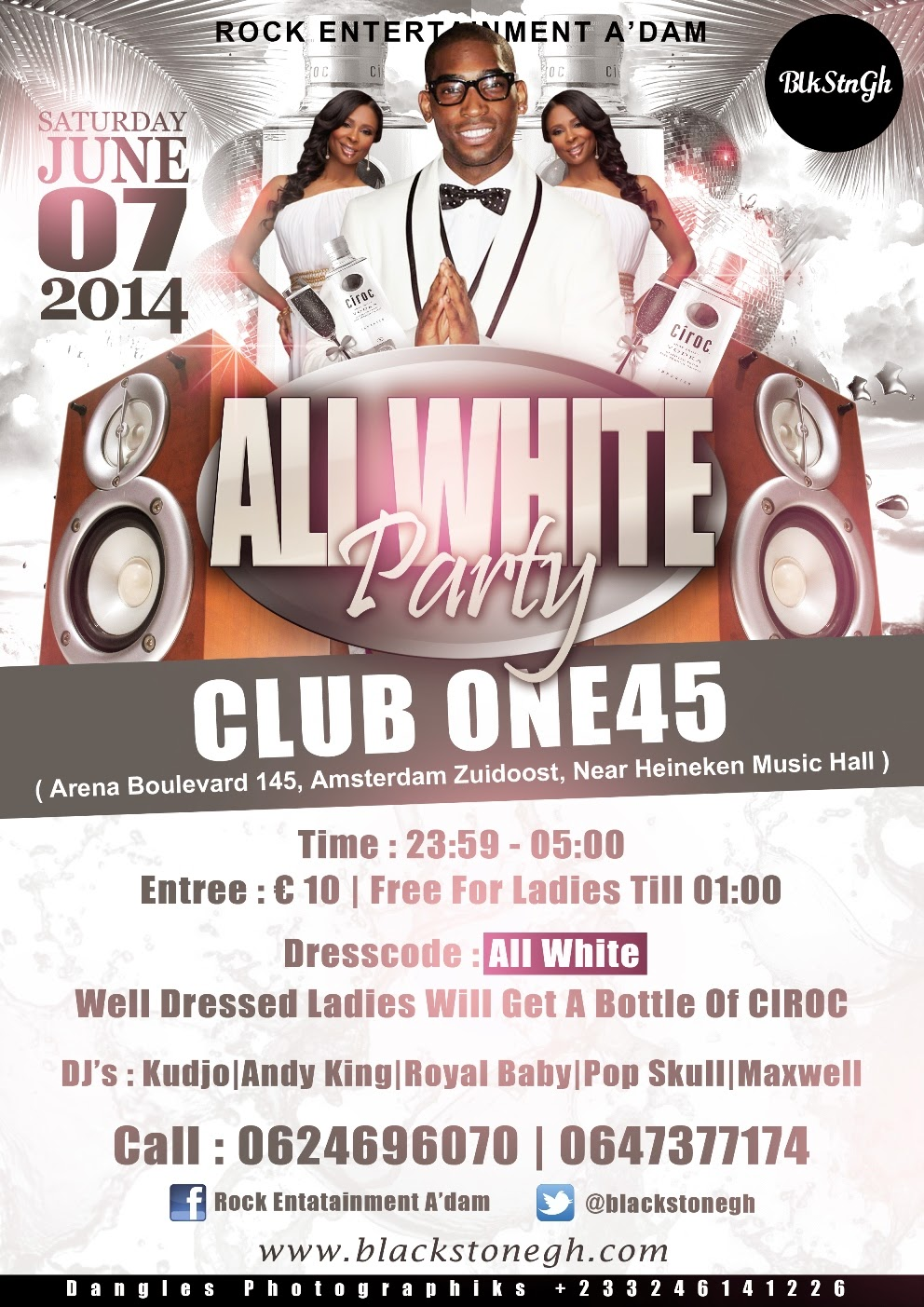 All White Party, Flyer Designed By Dangles Graphics (@Dangles442Gh ...