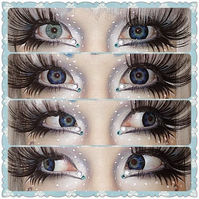 Bling Princess Halloween Look with Barbie Star Blue Lenses