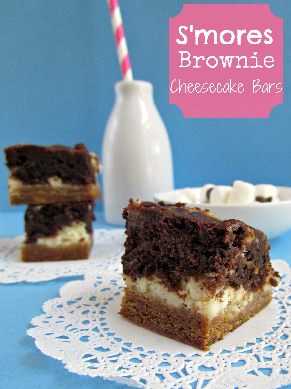 S\'mores Brownies {Sundays with Joy} - Crazy for Crust