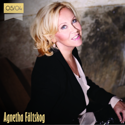 5 de abril | Agnetha Fältskog - @AgnethaNews | Info + vídeos
