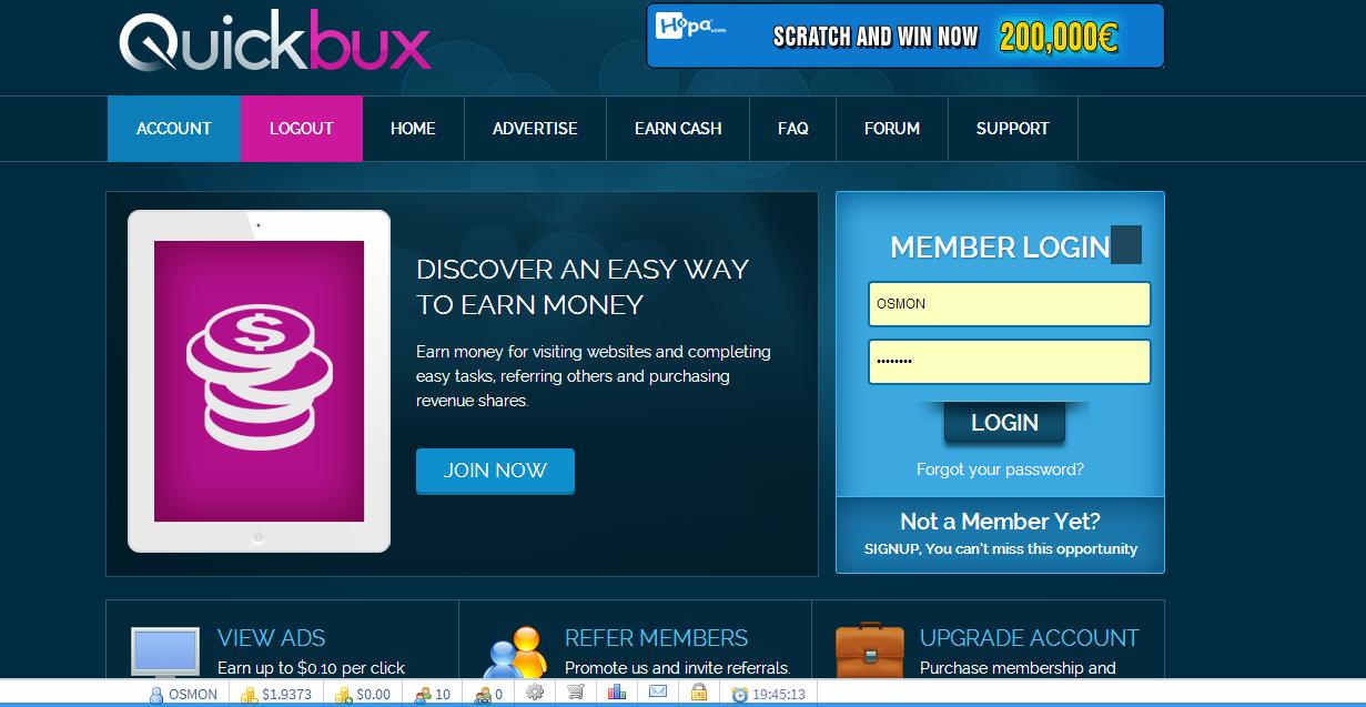 الشرك الجديدquickbuxبربح يومي 0.35بدون رفرل إتبات quiqbux.png