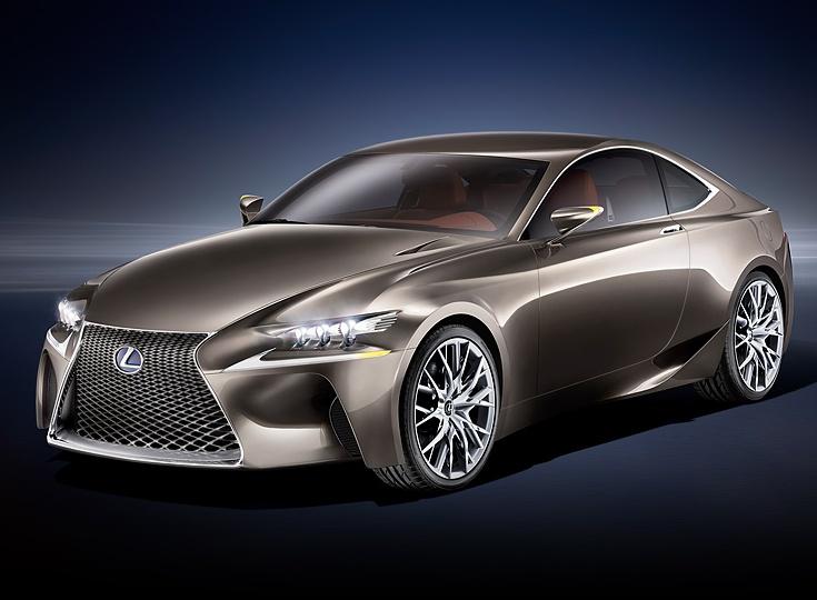 Lexus LF-CC Hybrid Concept Car features 2.5 litre 4-cylinder petrol
