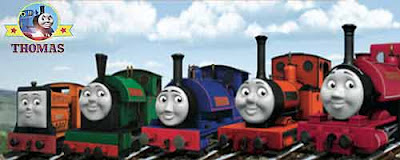 Percival the skinny controller Sodor narrow gauge steam trains Sir Handel Peter Sam the tank engine