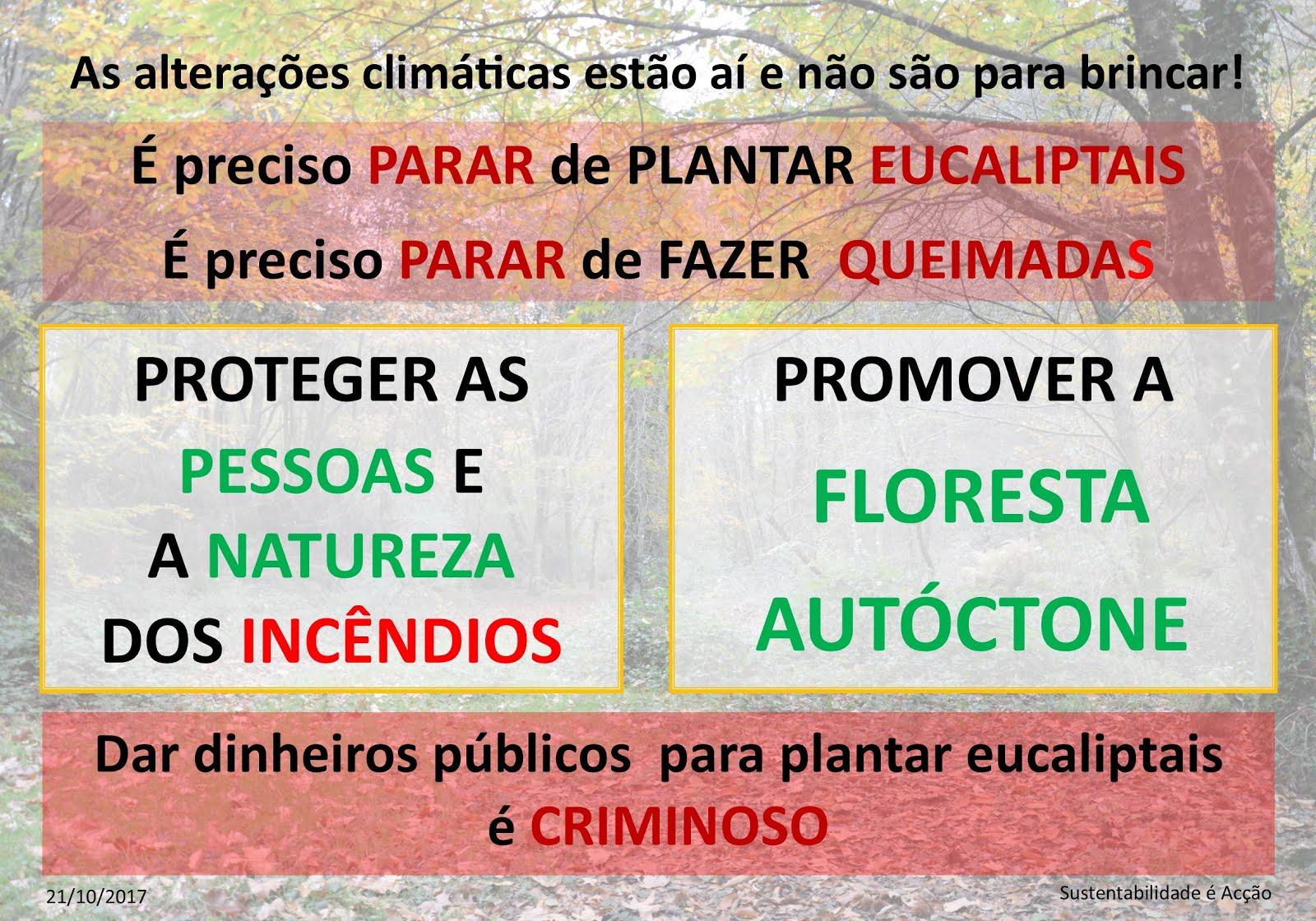 Contra os Incêndios em Portugal