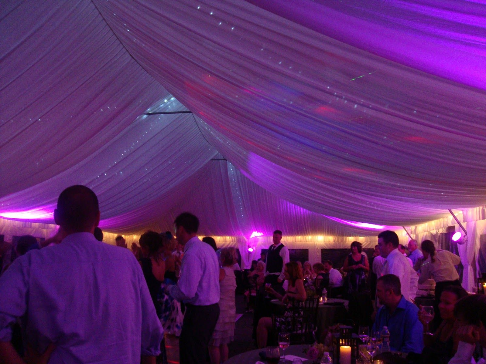 And how could we throw a B.C. wedding without all of the extras? Jennifer and Andrewu0027s tent displayed our gorgeous tent liner which we accented with our LED ... & B.C. Tent u0026 Awning Co. Inc.