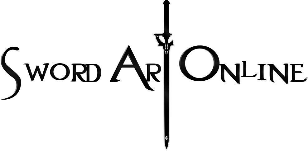 Sword Art Online Vector Anime Logo Vector