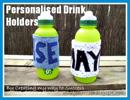 Personalised Drinks Holders