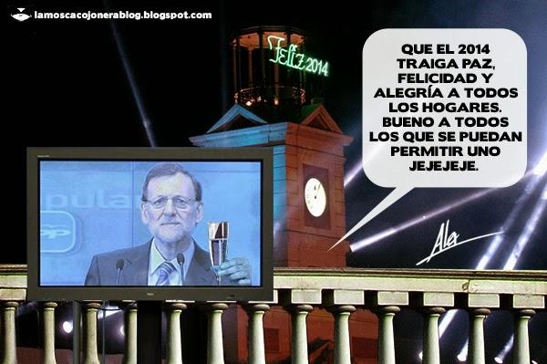La mosca cojonera rajoy retransmite en directo las campanadas for Puerta del sol hoy en directo