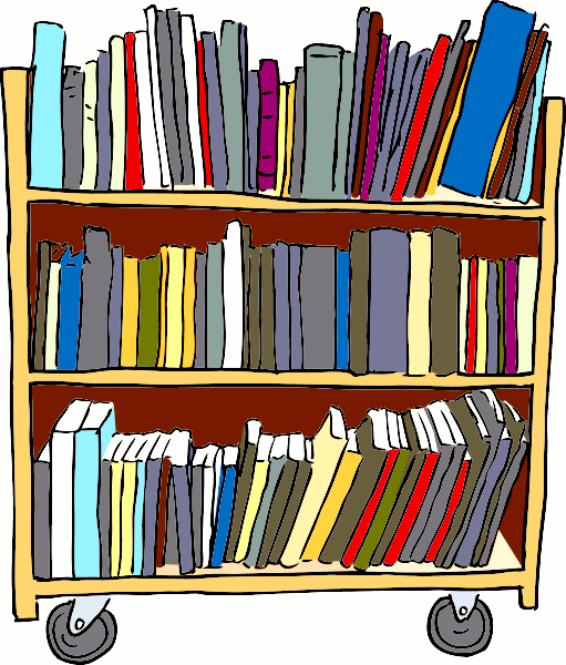 library shelves clipart - photo #29