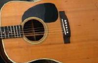 マーチンのアコースティックギター