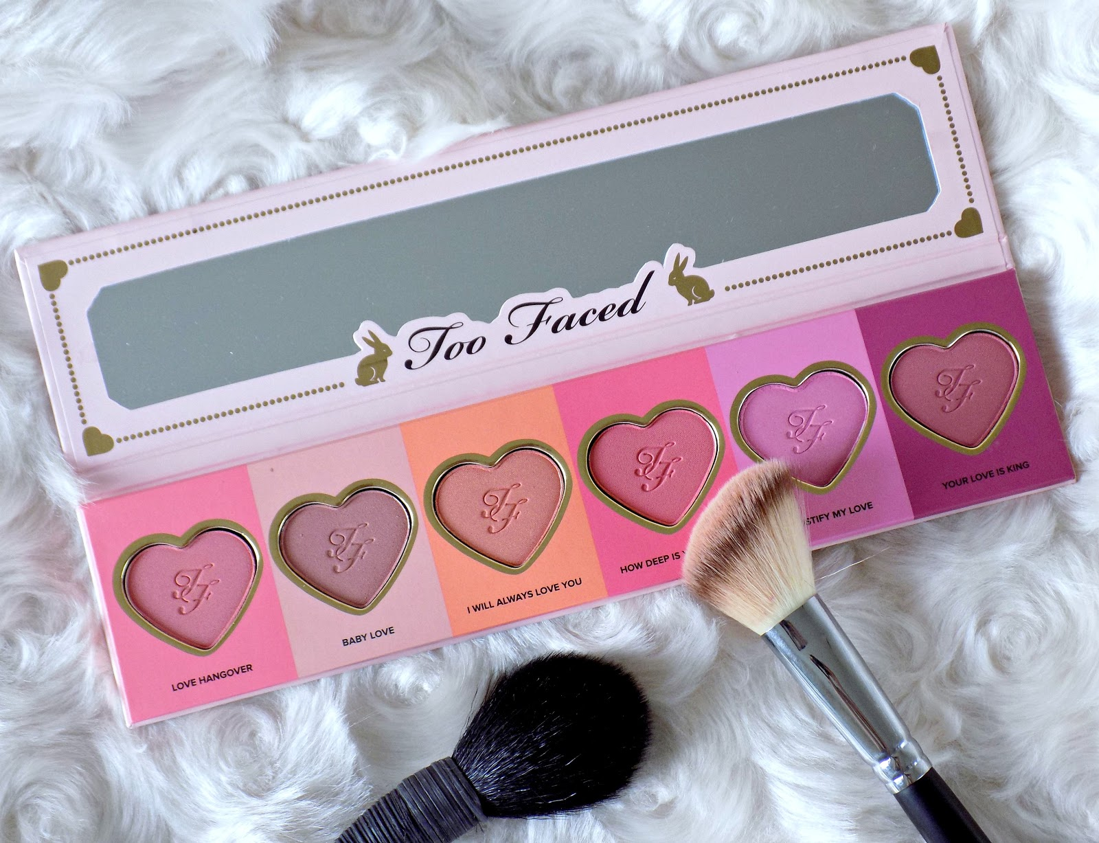 Too Faced Love Flush Long Lasting 16-Hour Blush Wardrobe