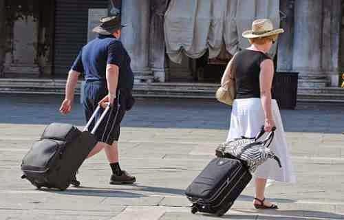 Wenecja: zakaz wjazdu.... walizek na kółkach!