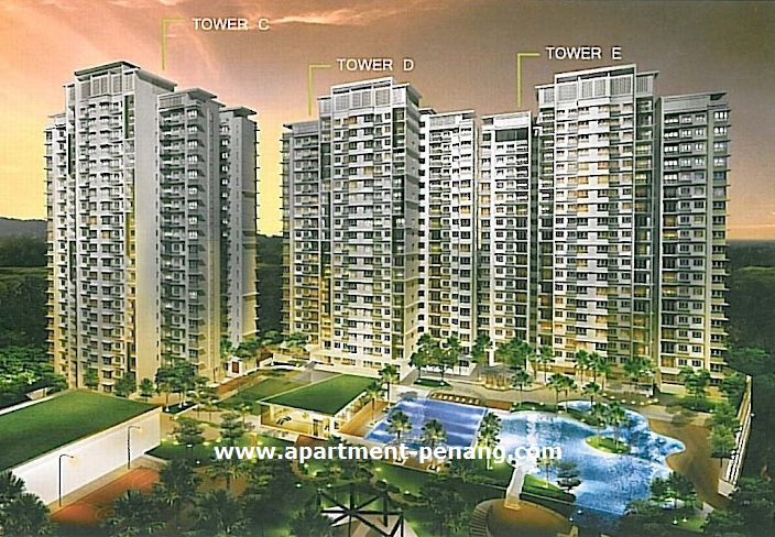 Ideal Property Development Sdn Bhd : One imperial apartment penang