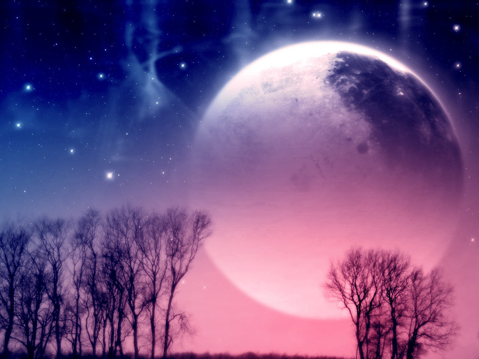 pretty moon wallpapers - photo #8