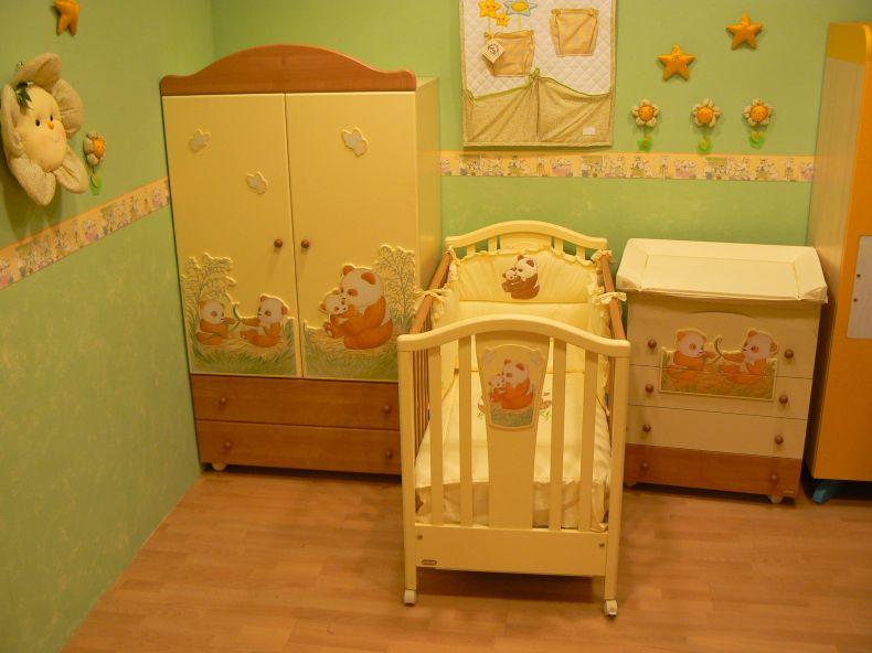 Colores para el dormitorio de un beb dormitorios con estilo - Colores para habitaciones de bebe ...