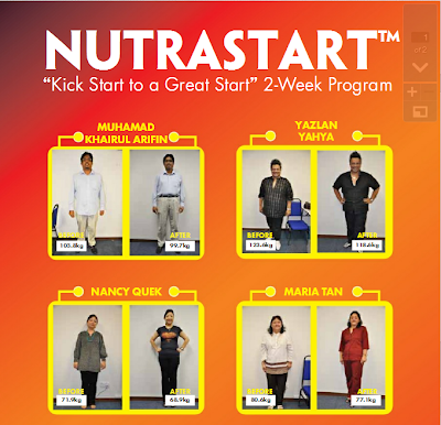Program Diet 2 Minggu Nutrastart | 4Life Transfer Factor Indonesia