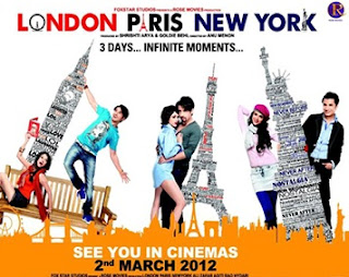 London Paris Newyork (2012) Eng Sub &#8211; Hindi Movie DVD