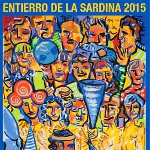 Entierro de la sardina Murcia 2015