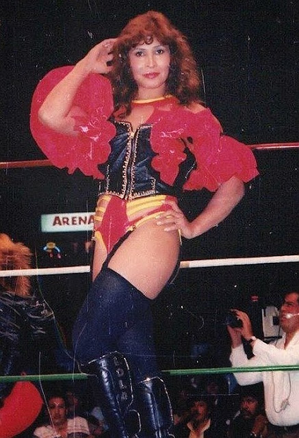 Lola Gonzales - Mexican Female Wrestlers