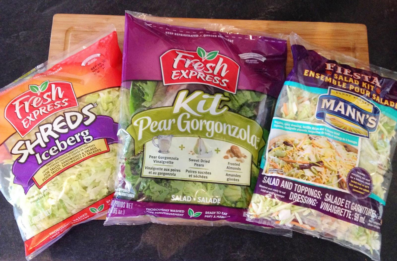 Bagged Salads Save Time