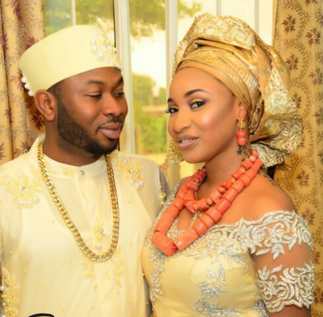 photos from Tonto Dikeh's traditional wedding