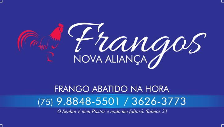 FRANGOS NOVA ALIANÇA, LIGUE 3626-3773 E FAÇA SEU PEDIDO!