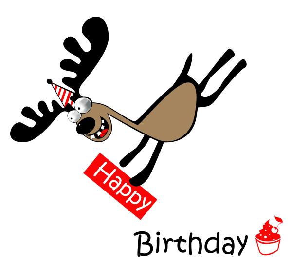 Birthday Moose