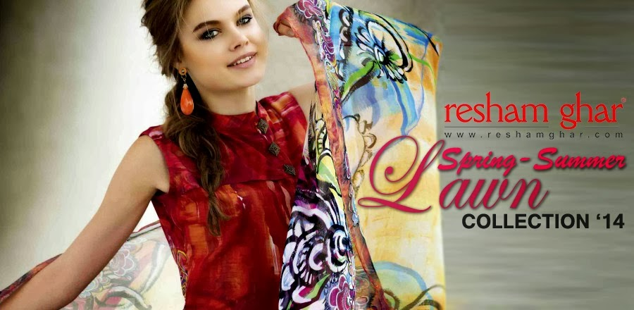Spring Summer Lawn Prints by Resham Ghar