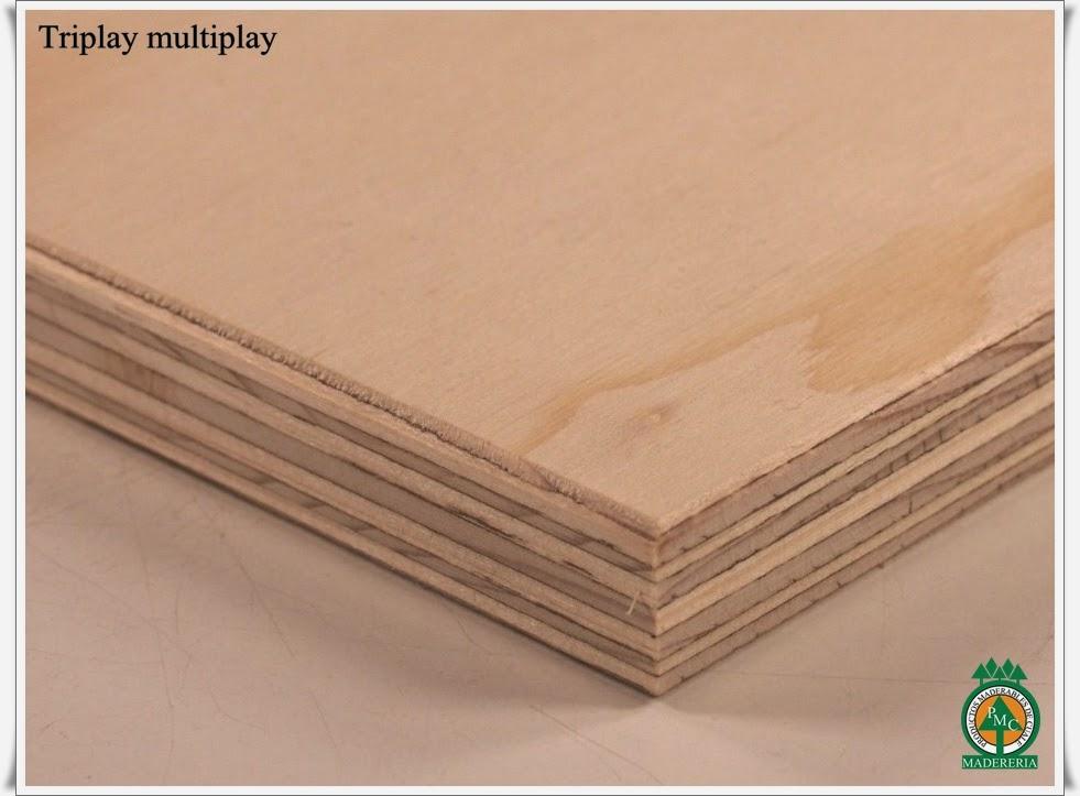 productos maderables de cuale diferencia de triplay multiplay y triplay de list n. Black Bedroom Furniture Sets. Home Design Ideas