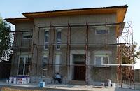 Aplicare Tencuiala Decorativa, Baumit SilikonPutz, Firma Constructii Bucuresti, Tencuiala Decorativa Soclu