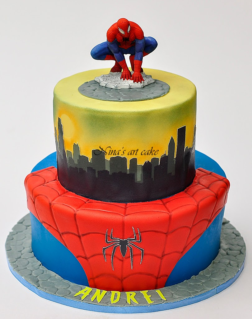 "Tort ""Spider-man"" pentru Andrei"