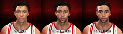 NBA 2K13 Chandler Parsons Cyberface Patch