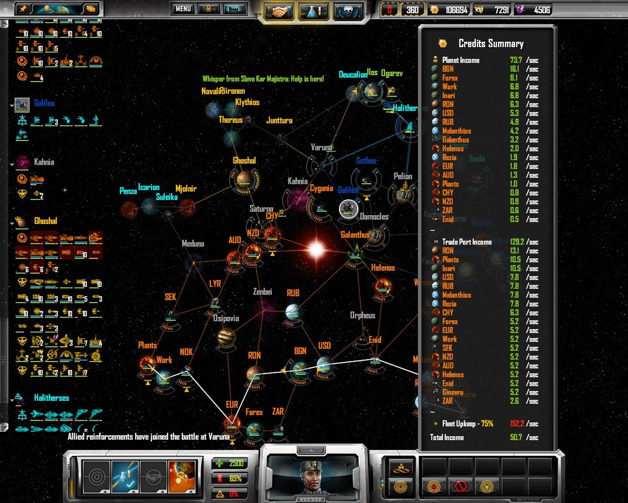 Sins of a Solar Empire - Fleet Screenshot