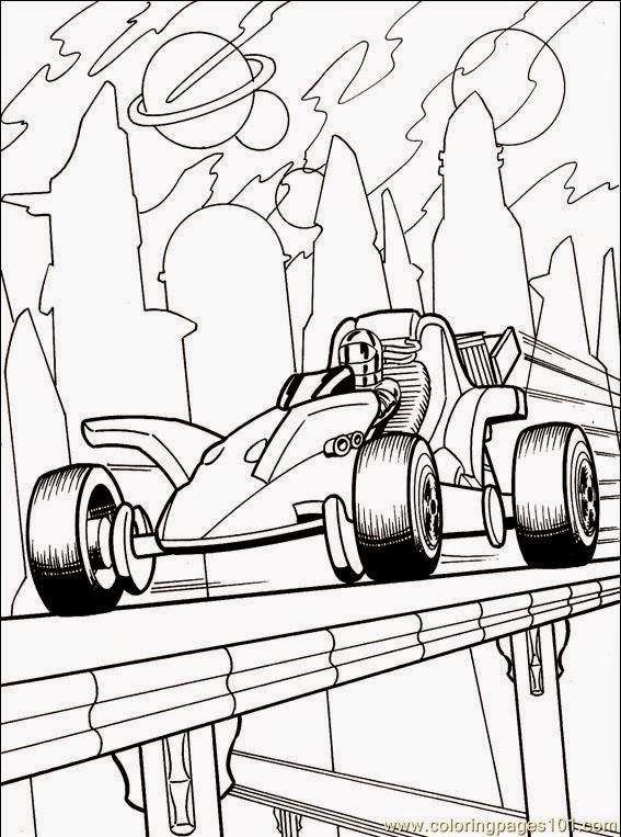 desenhos para colorir e pintar carros