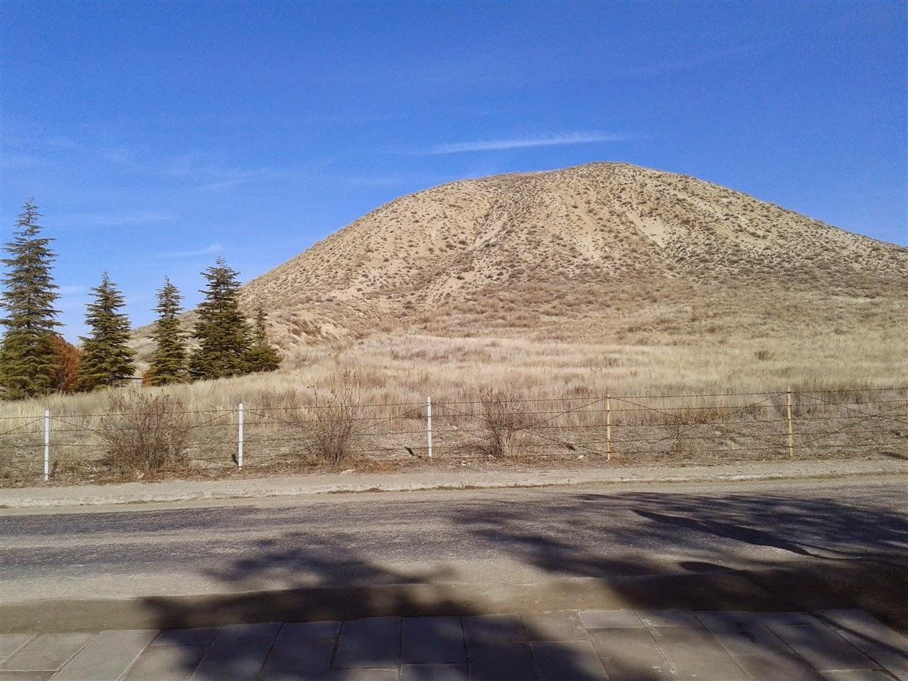 clay pyramids of gordion