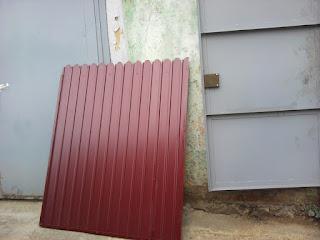 Забор из фигурного профлиста (резная кромка). Фото 8