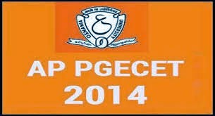 AP PGECET 2014 Hall Ticket Download