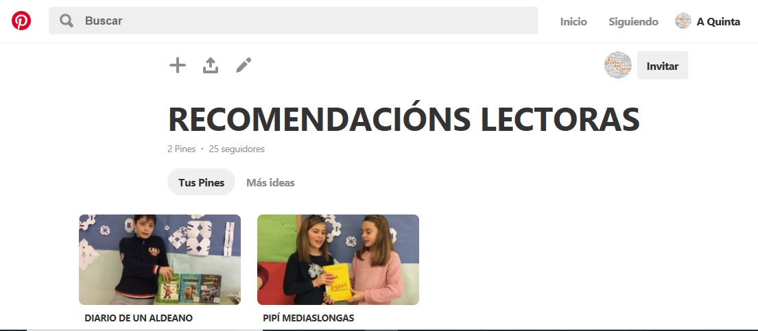 RECOMENDACIÓNS LECTORAS