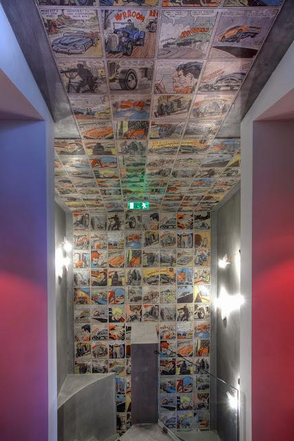 Treppe & Flur in Comic Art Selbermachen