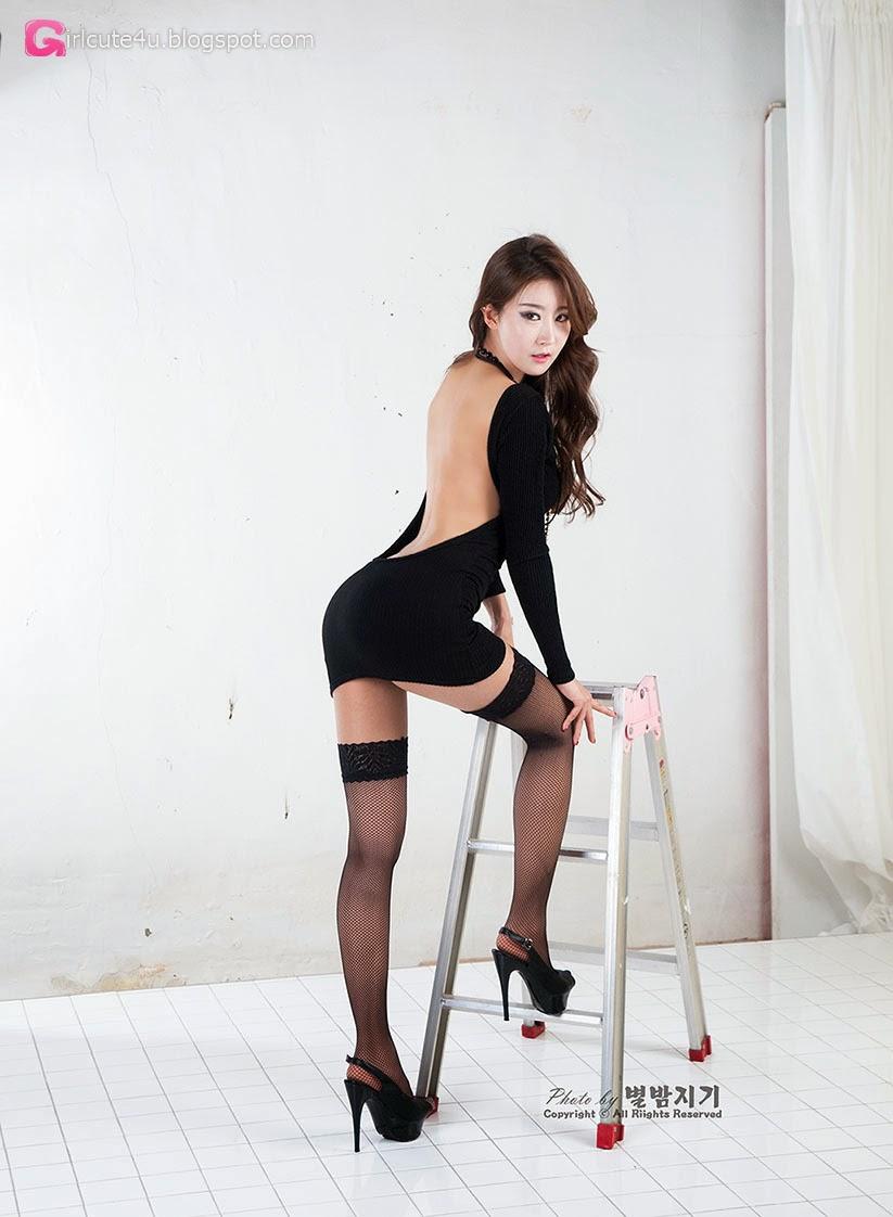 5 Park Hyun Sun - Studio Photo Shoot, 3 Different Outfits - very cute asian girl-girlcute4u.blogspot.com