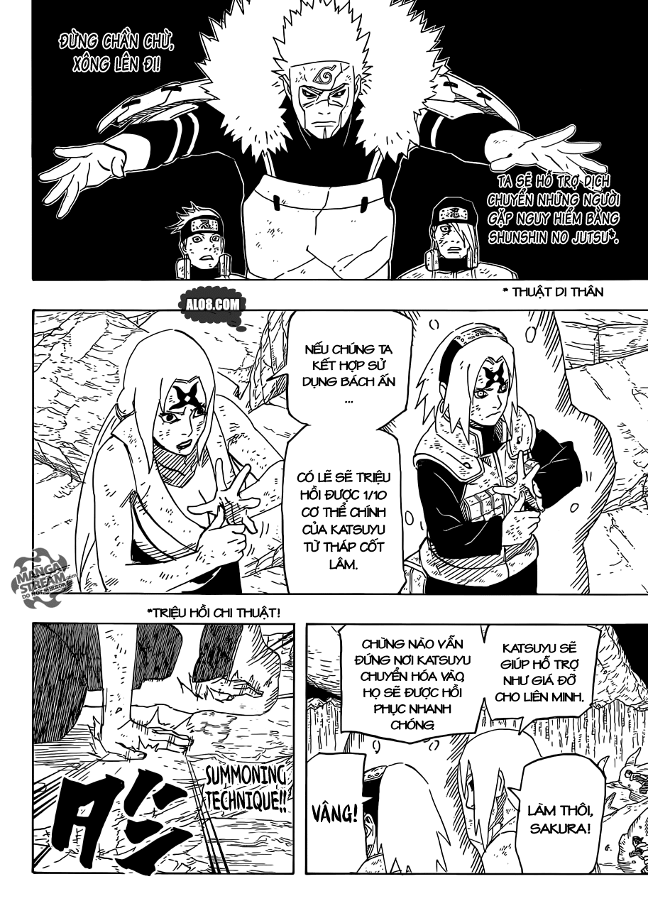 Naruto chap 650 Trang 6