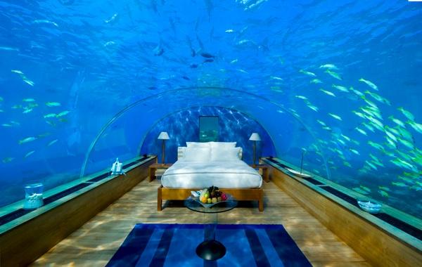 Underwater Honeymoon Suite Barbie Paris Loews Coronado Bay Resort Six Senses Hideaway