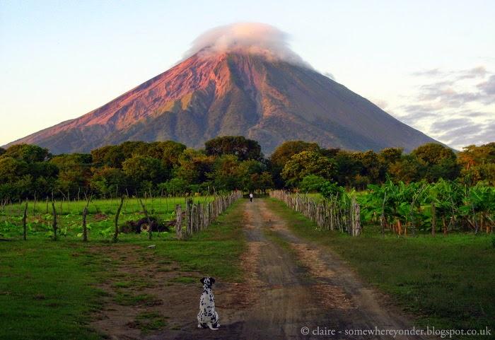 Volcano Concepción (1610 m)  Isla de Ometepe - Nicaragua 2009