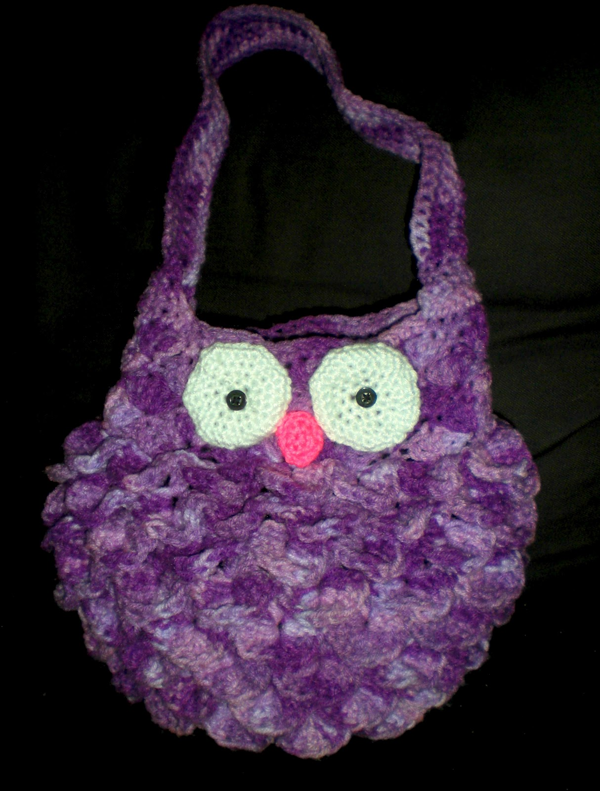 A Little Loopy, But I\'m Hooked: Fat Owl Bag