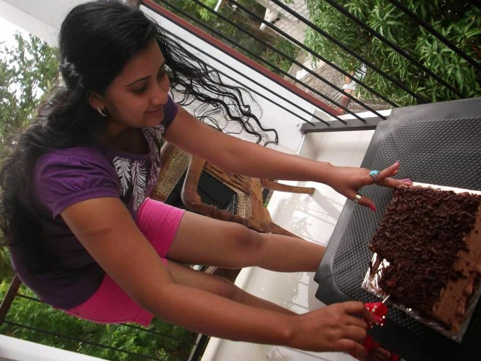 Madhu Nithyani B'day celebration @ Sigiri Dambulu