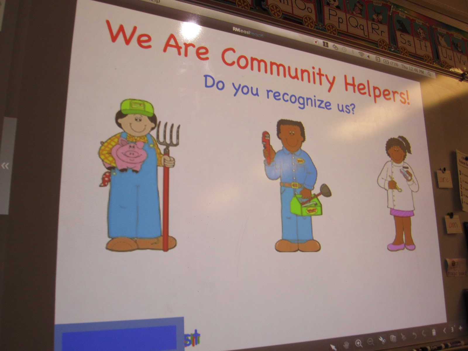 krafty kindergarteners community helpers