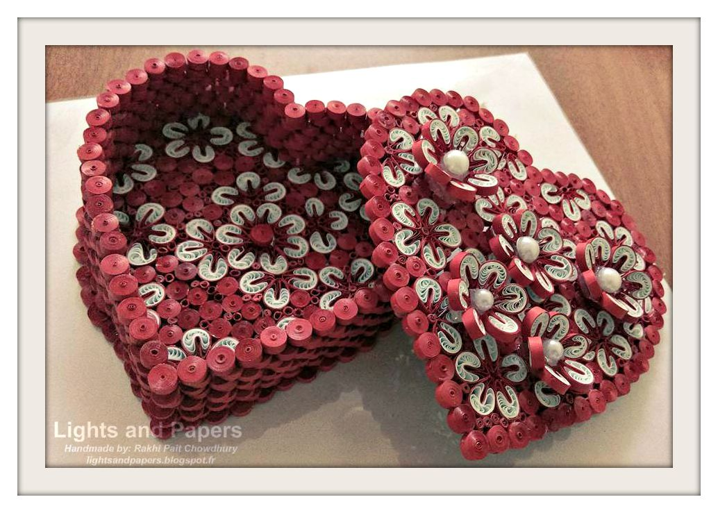 Lights And Papers 3D Quilled Boxes