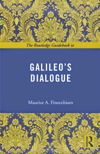 Cover of Maurice Finocchiaro book on Galileo and Aristotle