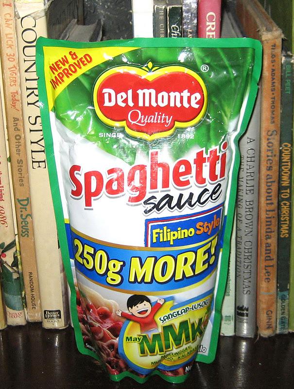 Del Monte Spaghetti Sauce Filipino Style Mmk