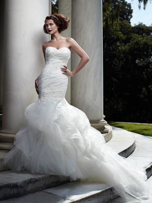 Meerjungfrau Brautkleider Voll betonen Ihre Anmut - Beste Brautkleide